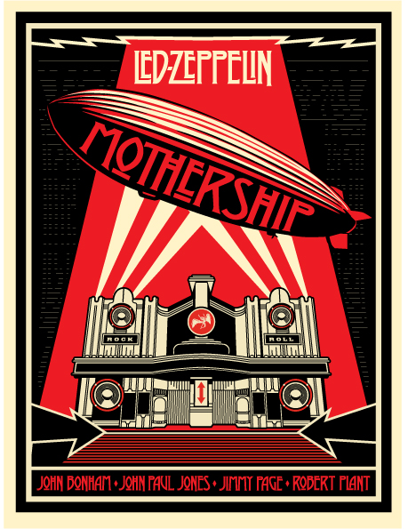 LED ZEPPLIN - MOTHERSHIP