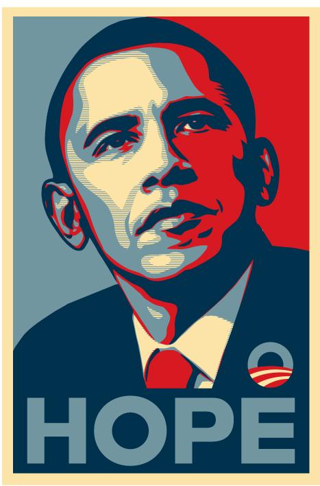 Barack Obama maakt kunstenaar beroemd