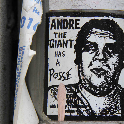 Sticker art obey giant