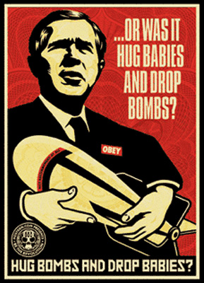 Hug bombs obey giant