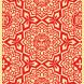 Yen Pattern (Red)