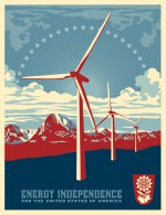 Energy Independence by Shepard Fairey