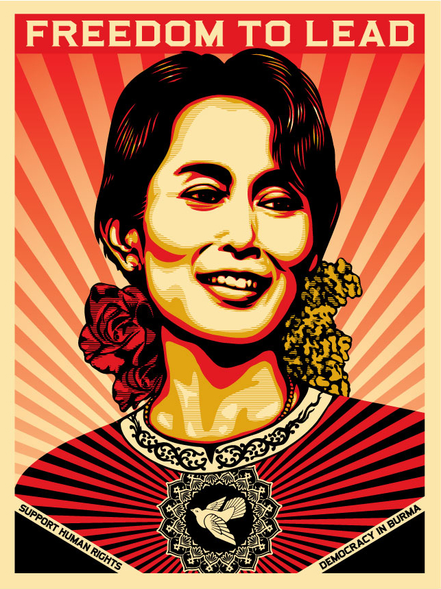 Aung San Suu Kyi - Freedom to Lead
