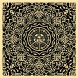 Ornate Pattern Black