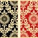 Parlor Pattern Inverse Cream Set