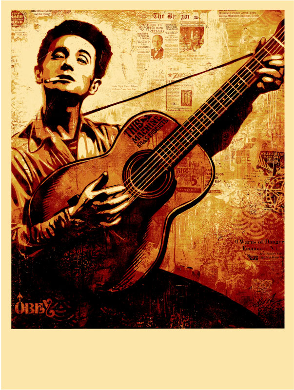 Woody Guthrie Drawings Woody Guthrie For Release on