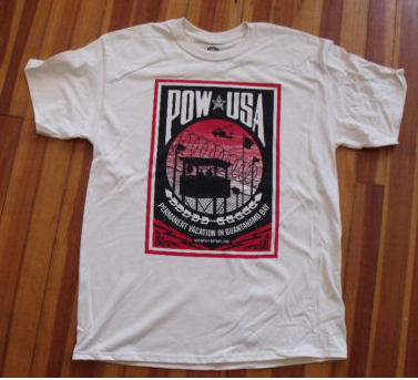 POW-USA WITNESS AGAINST TORTURE T-Shirts | OBEY GIANT