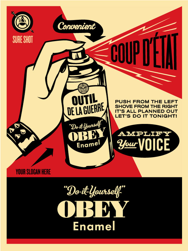 OBEY COUP D'ETAT | OBEY GIANT