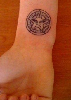 Obey Star Tattoo
