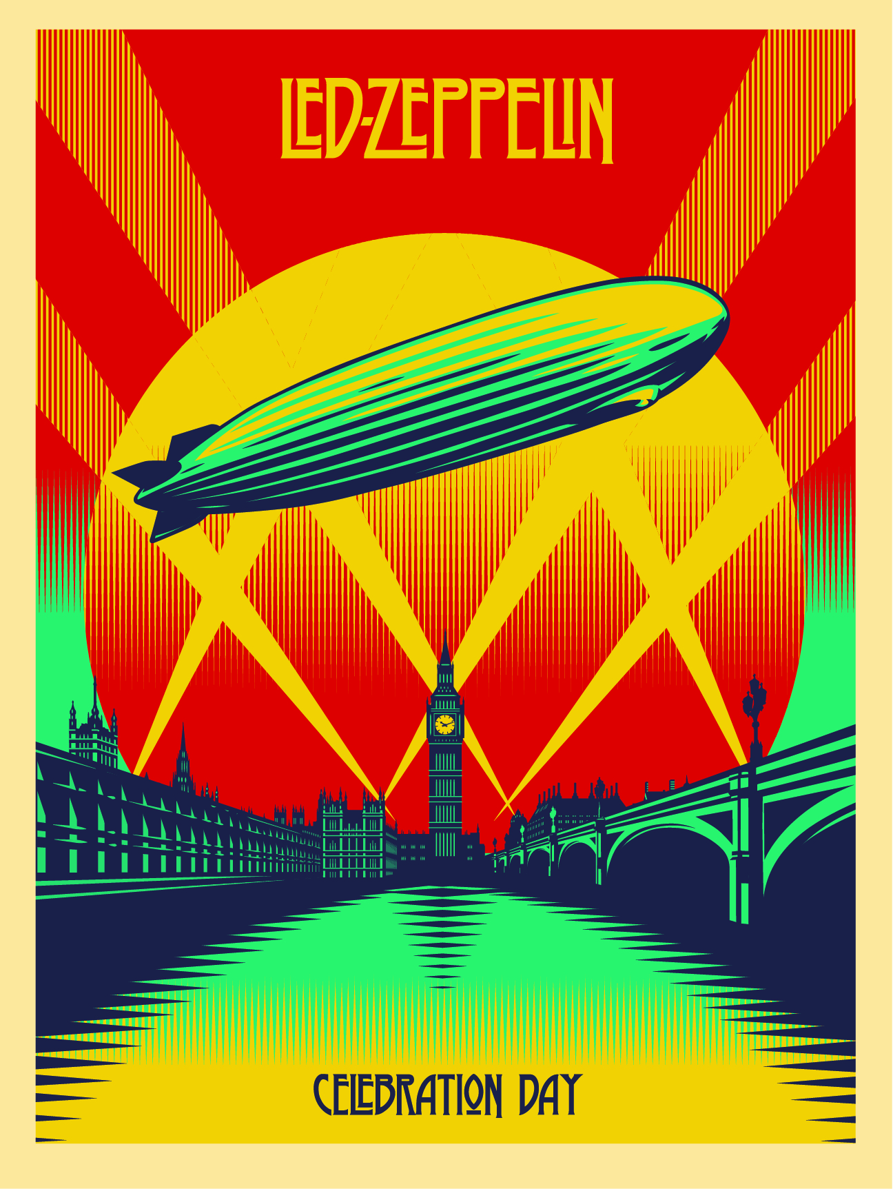 Celebration Day 18x24 poster-01Led Zeppelin Celebration Day Wallpaper
