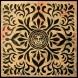 Japanese-Fabric-Star_Pattern-Inverse-Black