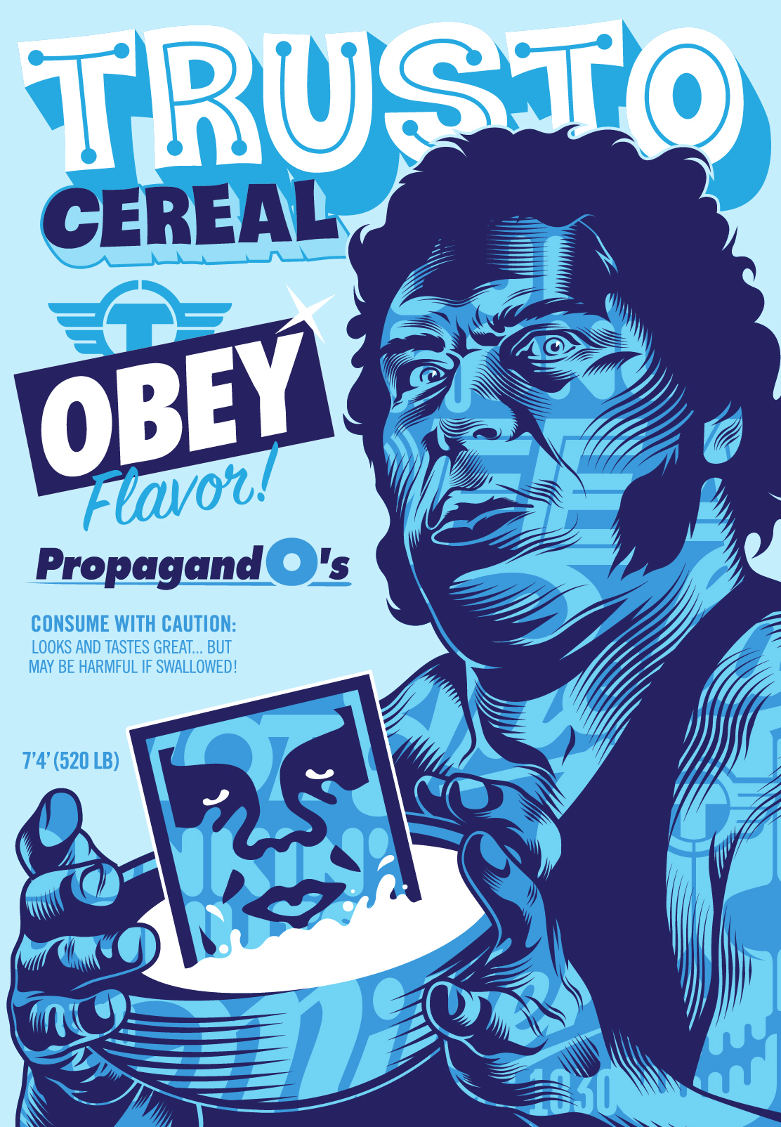 TRUSTO / OBEY CEREAL | OBEY GIANT