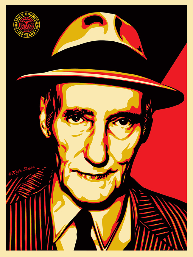 Burroughs 100 Years - Obey Giant