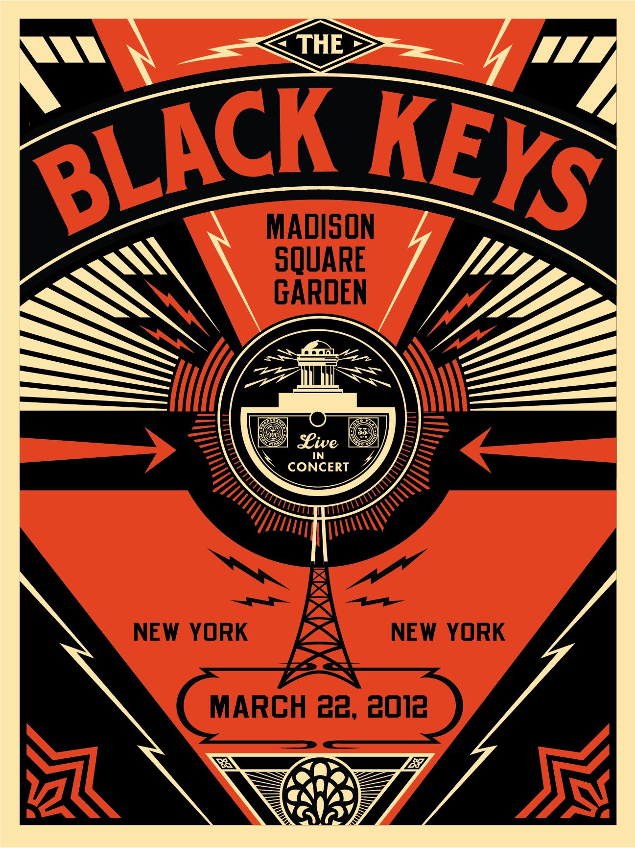 Black Keys Live Obey Giant