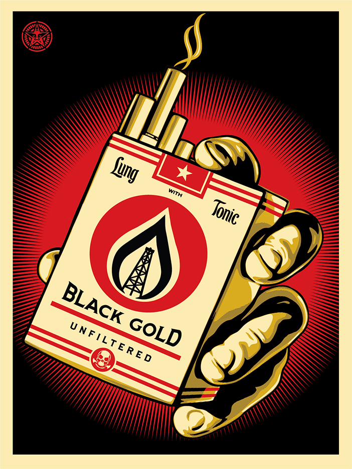 Black Gold Obey Giant