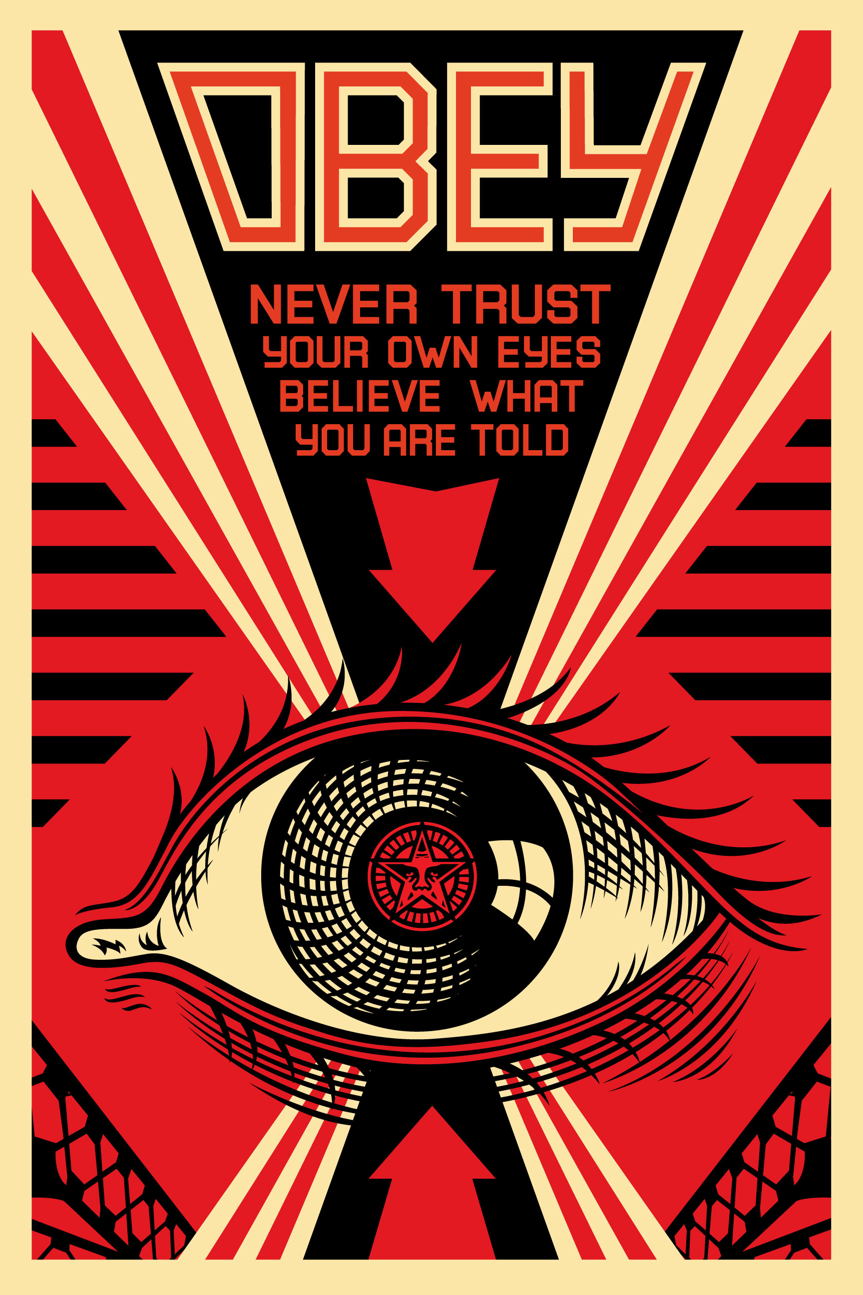government surveillance creates an orwellian society essay Essay questions practice  in 1984, orwell creates a media service that is nothing  each of these three states is run by a totalitarian government that is .
