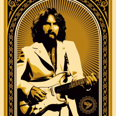 OBEY-GIANT-GEORGE-HARRISON-GOLD