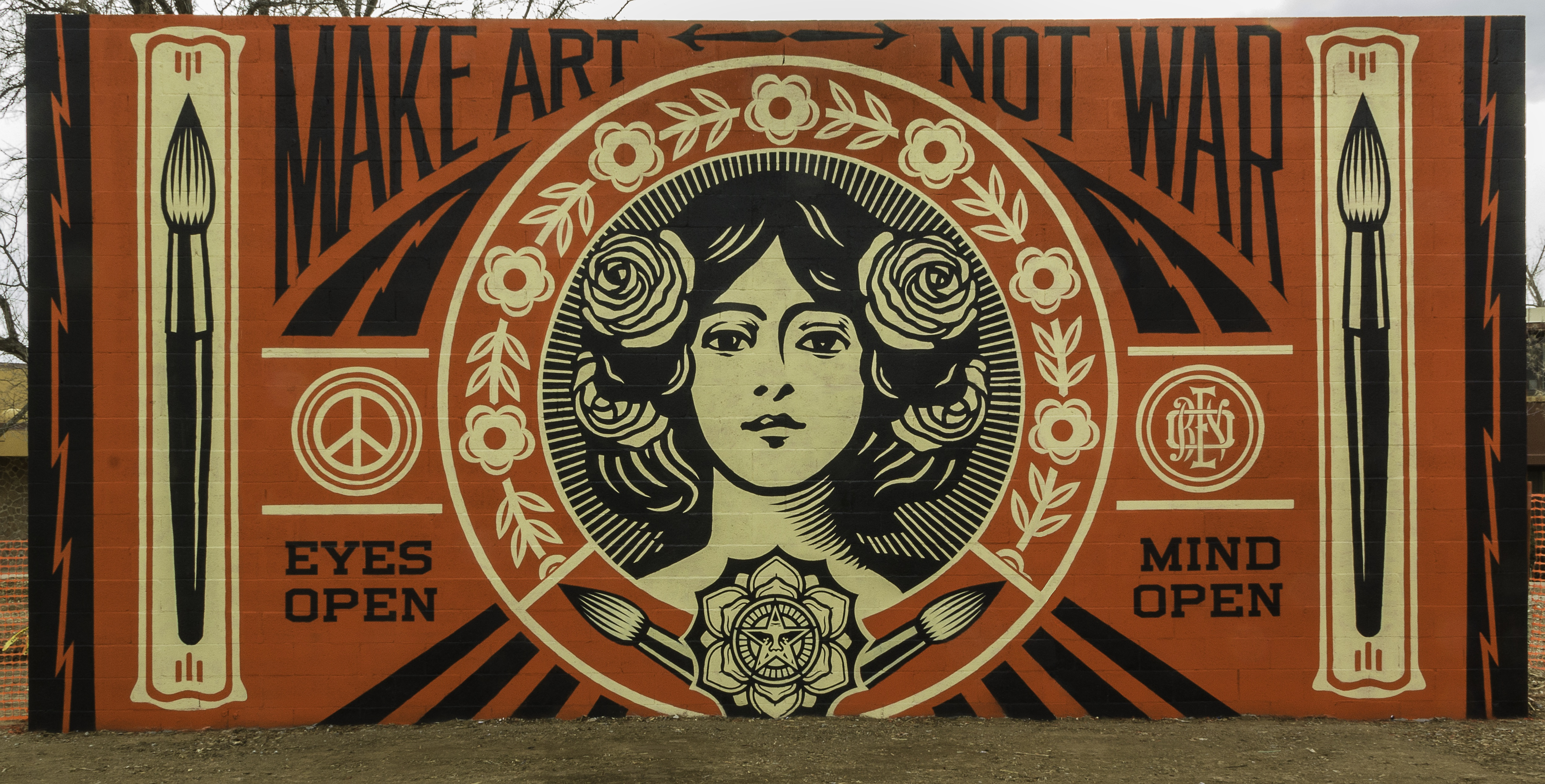 Santa Fe University x Shepard Fairey - Obey Giant