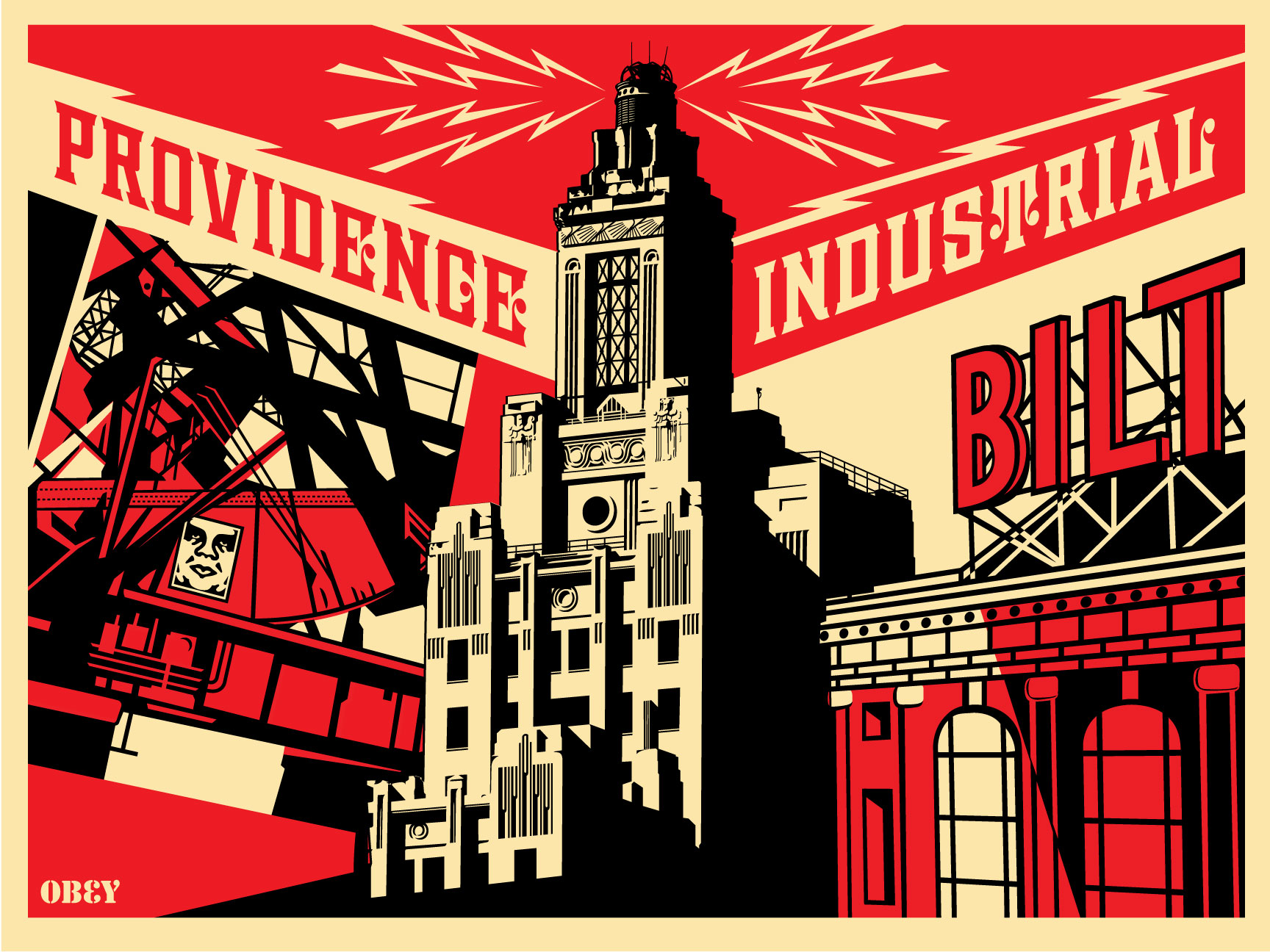 providence industrial x foo fest 2010 x as220 obey giant. Black Bedroom Furniture Sets. Home Design Ideas