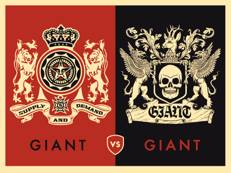 giant vs giant obey giant. Black Bedroom Furniture Sets. Home Design Ideas