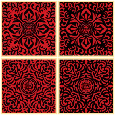 japanese-fabric-patterns-black-and-red-set