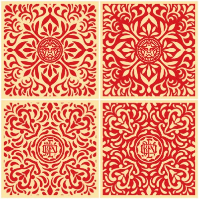 japanese-fabric-patterns-red-set