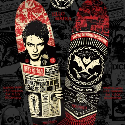 Jello Biafra/Powell Peralta skateboards - Obey Giant