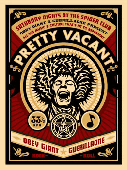 pretty vacant obey giant. Black Bedroom Furniture Sets. Home Design Ideas