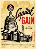 Capital Gain fine art