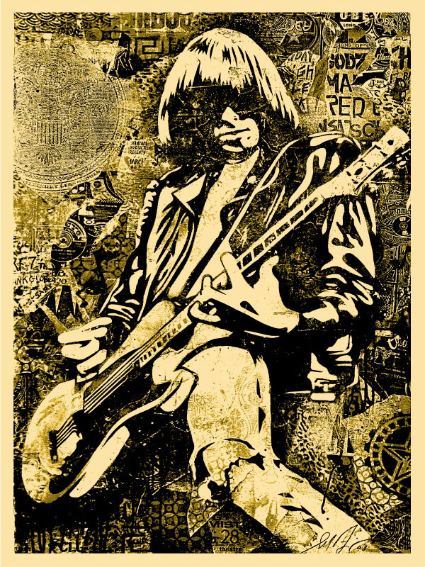 johnny-ramone-goldposter