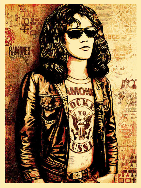 Tommy-Ramone-Poster RED-01
