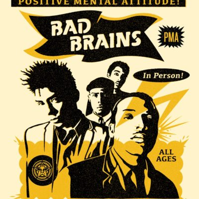 Rock For Light Bad Brains Punk Showcase Screen Print