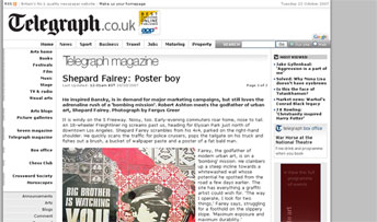 Shepard Fairey: Poster boy